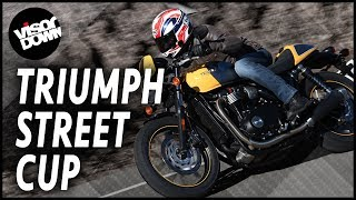 9. Triumph Street Cup Review First Ride | Visordown Motorcycle Reviews