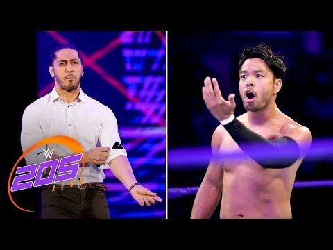 Mustafa Ali returns to confront Hideo Itami: WWE 205 Live, Aug. 28, 2018