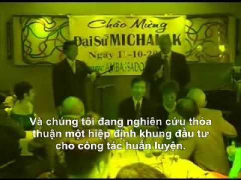 Thuy Nga Paris by Night & Michael Michalak US Ambassador to VN