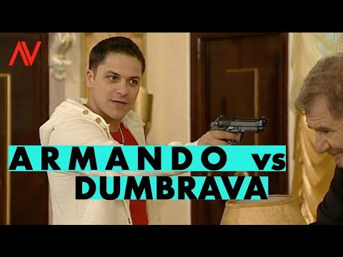 ARMANDO vs DUMBRAVA!...Augustin Viziru in rolul lui Armando din serialul REGINA..(secvente showreel)