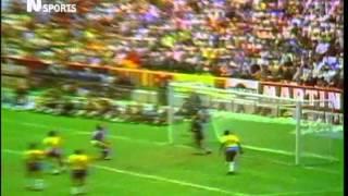 WM 1970: Brasilien gegen Italien: 4:1 (Finale)