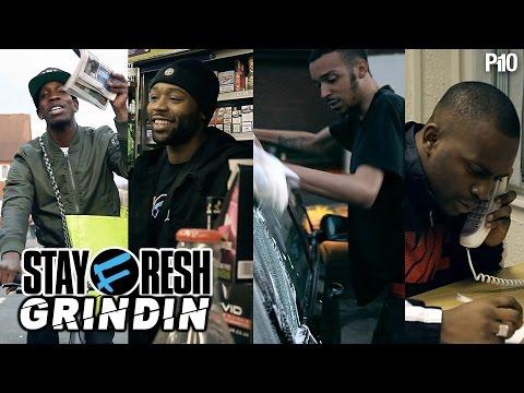 STAYFRESH  FT. MACCA, MOVEZ, CASPER & DON MENNA | GRINDIN | MUSIC VIDEO @P110Media @StayFreshTweets