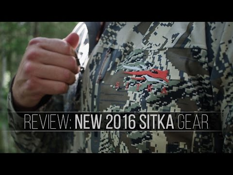 Sitka's Newest Gear! - A Quick Review