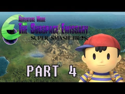 preview-Gaming with the Kwings - SSBB The Subspace Emissary part 4 co-op (Kwings)