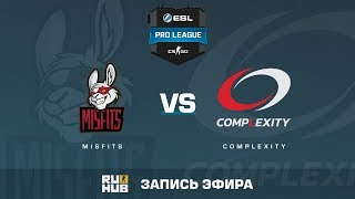 Misfits vs compLexity - ESL Pro League S6 NA - de_nuke [KabUSH, Jay]