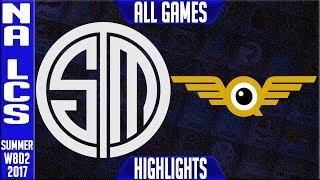 Video Team Solomid vs FlyQuest Highlights ALL GAMES Week 8 NA LCS Summer 2017 TSM vs FLY MP3, 3GP, MP4, WEBM, AVI, FLV Agustus 2018