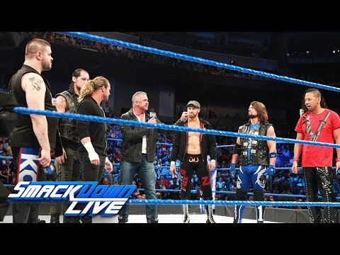 The Money in the Bank Ladder Match participants get fired up: SmackDown LIVE, May 23, 2017 (видео)