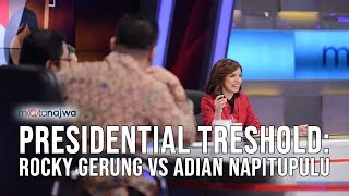 Video Mata Najwa Part 1 - Pasar Bebas Capres: Presidential Threshold: Rocky Gerung vs Adian Napitupulu MP3, 3GP, MP4, WEBM, AVI, FLV November 2018