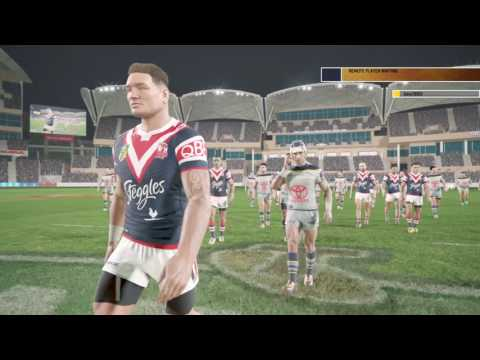 Rugby League Live 4   Online Game -  Roosters  v Cowboys