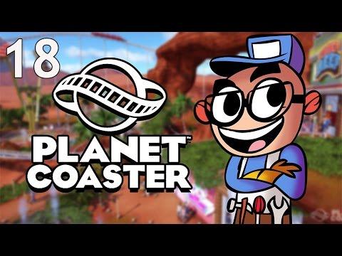 Northernlion Plays - Planet Coaster - Episode 18 [LoopyMomo] (видео)