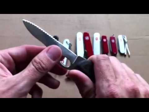 A Discussion on Victorinox Swiss Army Knives