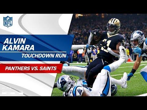 Video: Alvin Kamara is Key on Opening Drive TD vs. Carolina! | Panthers vs. Saints | NFL Wk 13 Highlights