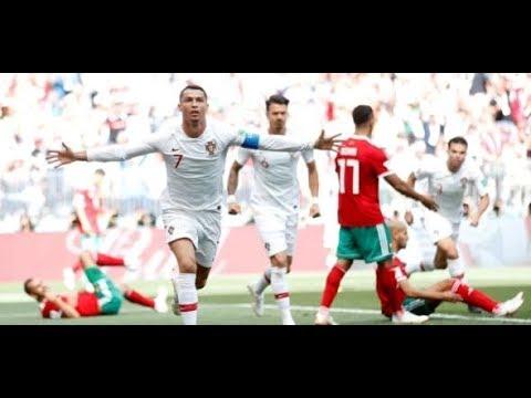 Fußball-WM: Portugal - Marokko 1:0 / Ronaldo trifft zum ...