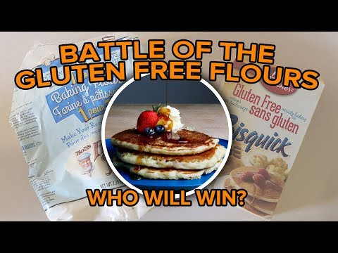 Sour Cream & Banana Pancakes - Battle Of The Gluten Free Flours