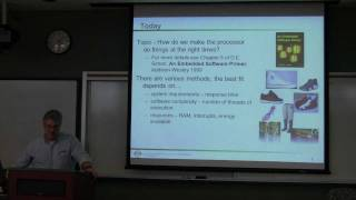 Embedded Systems Course - Lecture 24:  Operating Systems 1