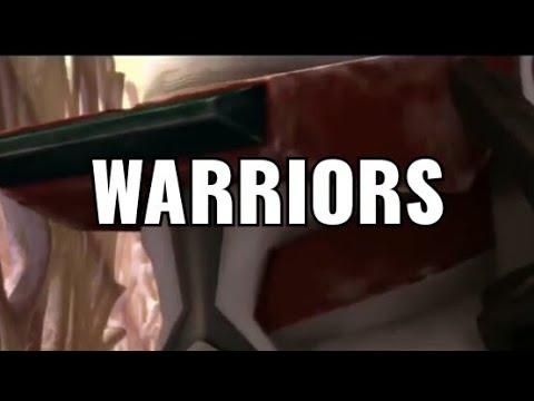 Star Wars The Clone Wars - Warriors (AMV) Star Wars Music Video