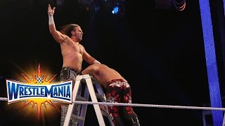 Nonton Fatal 4 Way Raw Tag Team Title Ladder Match  Wrestlemania 33  Wwe Network  Film Subtitle Indonesia Streaming Movie Download