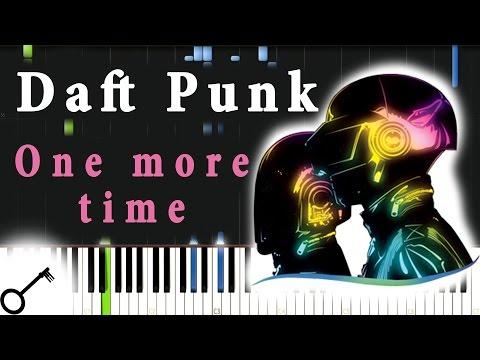 видео игры на фортепиано - One more time
