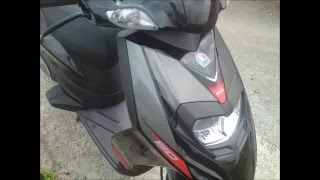 8. Aprilia SR 50 motard review and top speed