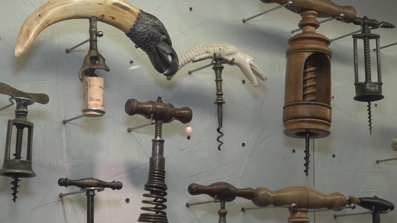 Η συλλογή ανοιχτηριών του Μουσείου Οίνου Γεροβασιλείου