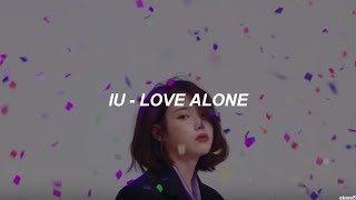 Video IU - Love Alone // Sub. español MP3, 3GP, MP4, WEBM, AVI, FLV Mei 2018