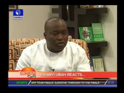 Video:Ifeanyi Uba  names Finance Ministry, Maduka, Access Bank in conspiracy against him