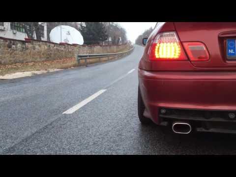 BMW E46 330CI Muffler Delete ( Sound check )
