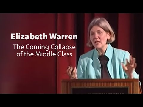 lecture - Distinguished law scholar Elizabeth Warren teaches contract law, bankruptcy, and commercial law at Harvard Law School. She is an outspoken critic of America'...