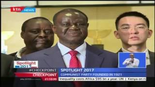 Spotlight 2017 : Agreement between jubilee party and community party of China