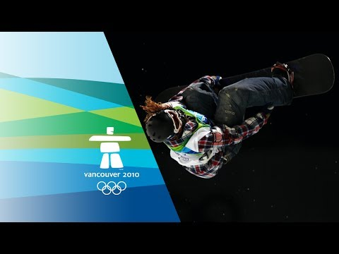 White – Men's Snowboard – Half Pipe – Vancouver 2010 Winter Olympic Games
