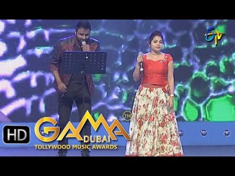 Kannu-Moosthe-Song--Hemachandra-Damini-Performance-in-ETV-GAMA-Music-Awards-2015--20th-March-2016