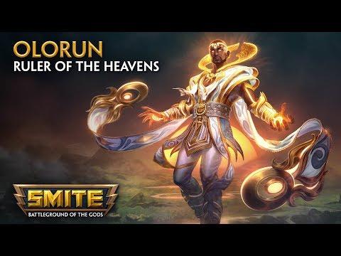 SMITE - God Reveal - Olorun, Ruler of the Heavens