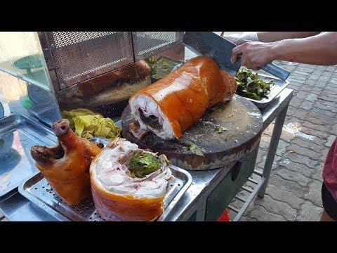 Đi câu cá vào quán nhậu gặp cao thủ chặt thịt lợn quay - Thời lượng: 8:18.