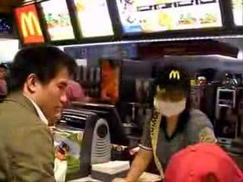 超酷魔術點餐,連店員都點到傻眼了!!