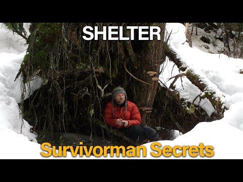 Survivorman Secrets |  Season 1 | Episode 2 | Shelter | Les Stroud