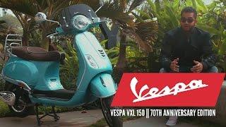 5. Piaggio Vespa Review: Vespa VXL 150 || 70th Anniversary Edition