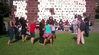 Taller de danza africana para niños en San Sebastin de La Gomera