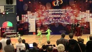 Elisabeth Horsch & Johannes Horsch - Norddeutsche Meisterschaft 2014