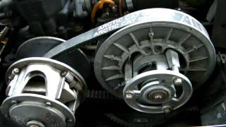 8. Arctic Cat Drive Belt Installation