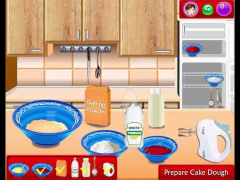 Cooking Games For Girls | Red Velvet Cake