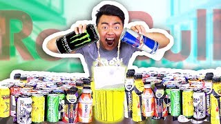 Do Not Mix 50 ENERGY DRINKS Together!