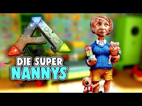 ARK Survival Evolved Ragnarok Deutsch - Die Super NANNYS