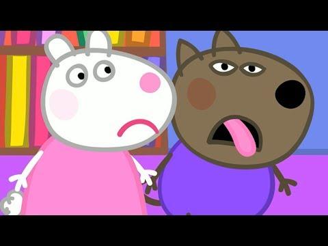 Peppa Pig Świnka Peppa Bajka po Polsku  Danny Piesek jest Chory  Bajka po Polsku