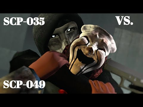 SCP-035 vs. SCP-049 [SFM]