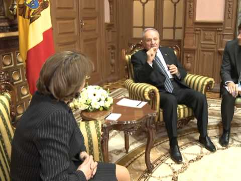 President Nicolae Timofti met the Georgian Minister of Foreign Affairs Maia Panjikidze