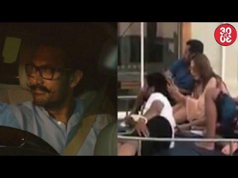 Aamir Visits Karan To Meet His Twins Yash & Roohi