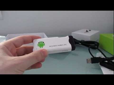$40 Android 4.0 MK802 Mini PC unboxing
