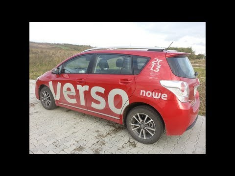 Toyota Verso 2013 Test / Review / Walkaround