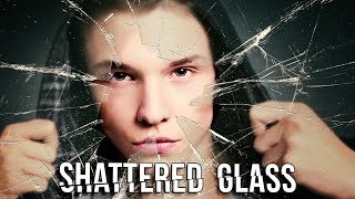 Photoshop Tutorial: How to Create  a Portrait behind Shattered Glass.