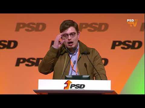 37º Congresso PSD - Intervenção de David Cristóvão